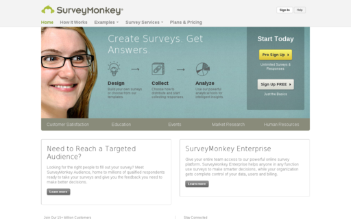 Access surveymonkey.com using Hola Unblocker web proxy