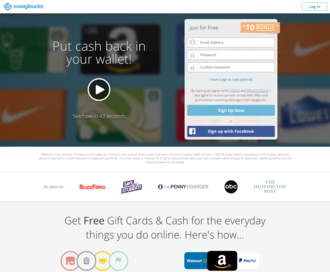 Access swagbucks.com using Hola Unblocker web proxy