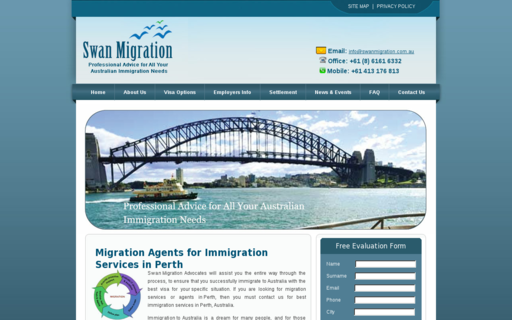 Access swanmigration.com.au using Hola Unblocker web proxy