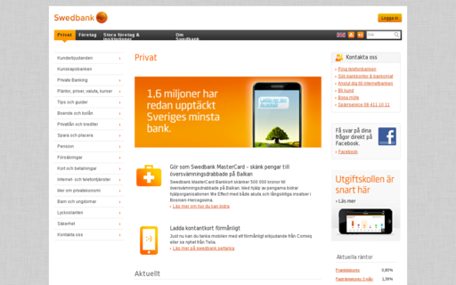 Access swedbank.se using Hola Unblocker web proxy