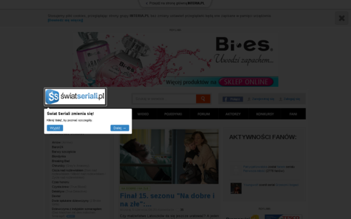 Access swiatseriali.pl using Hola Unblocker web proxy