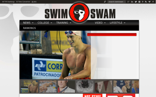 Access swimswam.com using Hola Unblocker web proxy