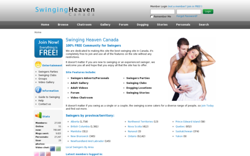 Access swingingheaven.ca using Hola Unblocker web proxy