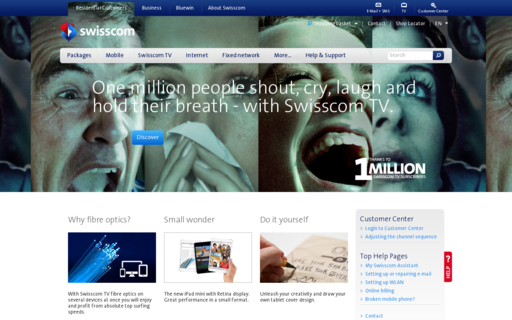 Access swisscom.com using Hola Unblocker web proxy