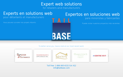 Access tailbase.com using Hola Unblocker web proxy