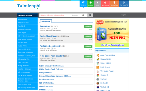 Access taimienphi.vn using Hola Unblocker web proxy