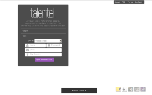 Access talentell.com using Hola Unblocker web proxy