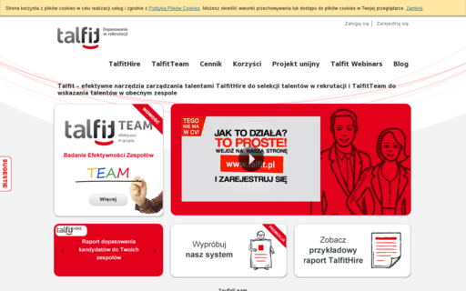 Access talfit.pl using Hola Unblocker web proxy