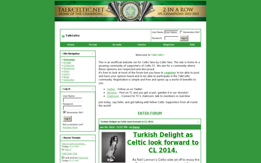 Access talkceltic.net using Hola Unblocker web proxy