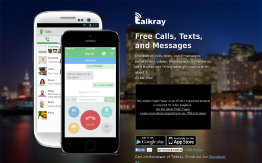 Access talkray.com using Hola Unblocker web proxy