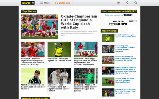 Access talksport.com using Hola Unblocker web proxy