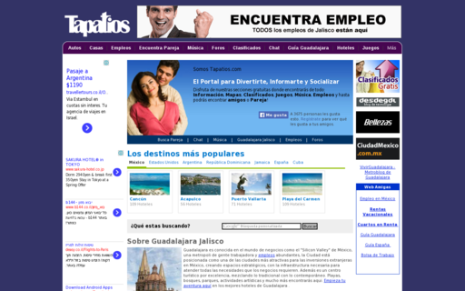 Access tapatios.com using Hola Unblocker web proxy
