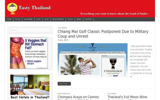 Access tastythailand.com using Hola Unblocker web proxy