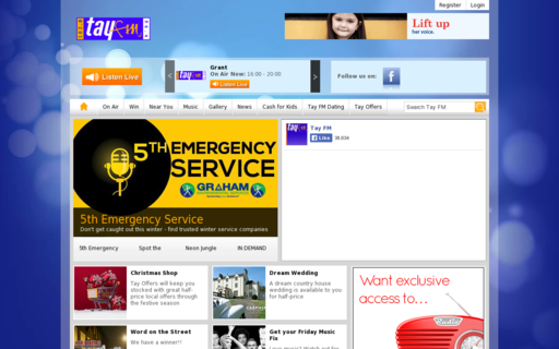 Access tayfm.co.uk using Hola Unblocker web proxy