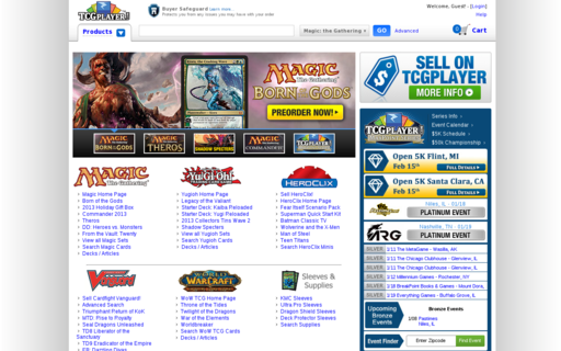 Access tcgplayer.com using Hola Unblocker web proxy