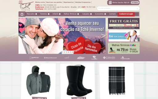 Access tcheinverno.com.br using Hola Unblocker web proxy
