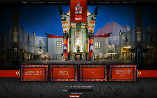 Access tclchinesetheatres.com using Hola Unblocker web proxy