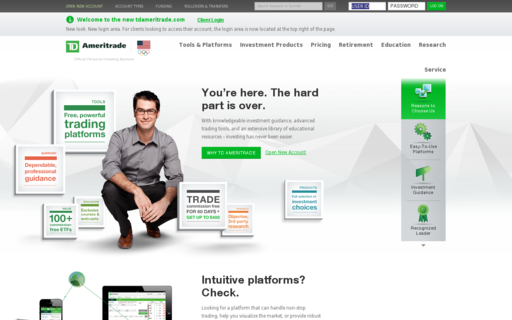 Access tdameritrade.com using Hola Unblocker web proxy