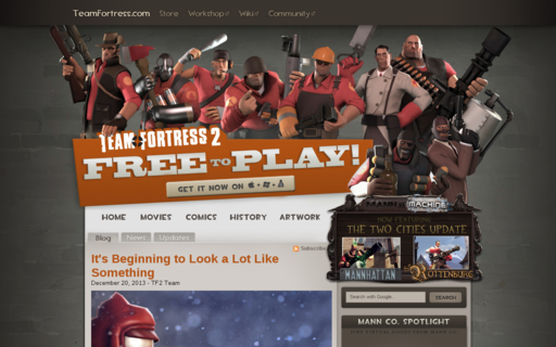 Access teamfortress.com using Hola Unblocker web proxy