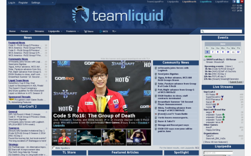 Access teamliquid.net using Hola Unblocker web proxy