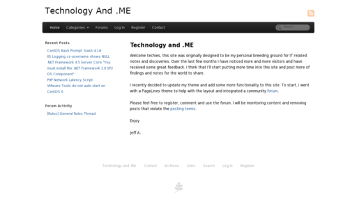 Access technologyand.me using Hola Unblocker web proxy