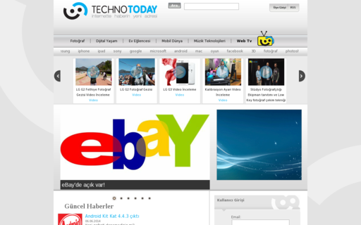 Access technotoday.com.tr using Hola Unblocker web proxy