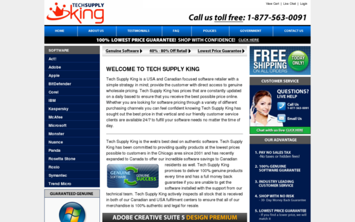 Access techsupplyking.com using Hola Unblocker web proxy
