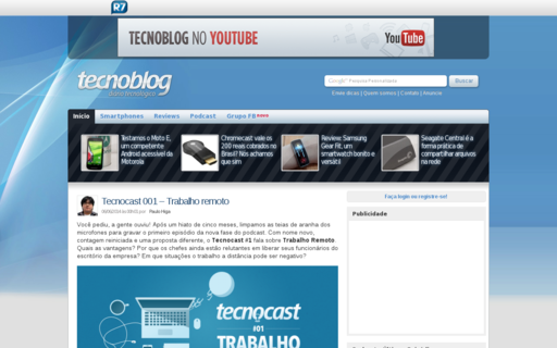 Access tecnoblog.net using Hola Unblocker web proxy