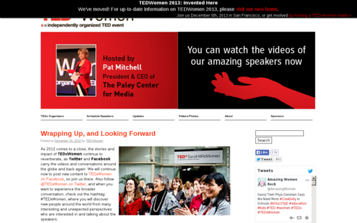 Access tedxwomen.org using Hola Unblocker web proxy