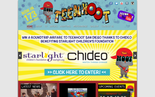 Access teenhoot.com using Hola Unblocker web proxy