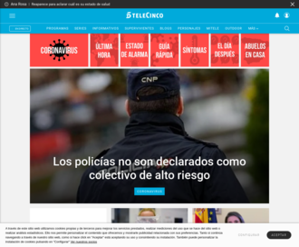 Access telecinco.es using Hola Unblocker web proxy