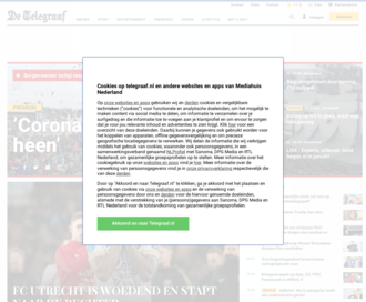 Access telegraaf.nl using Hola Unblocker web proxy