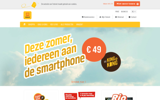 Access telenet.be using Hola Unblocker web proxy