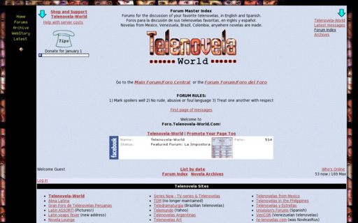 Access telenovela-world.com using Hola Unblocker web proxy