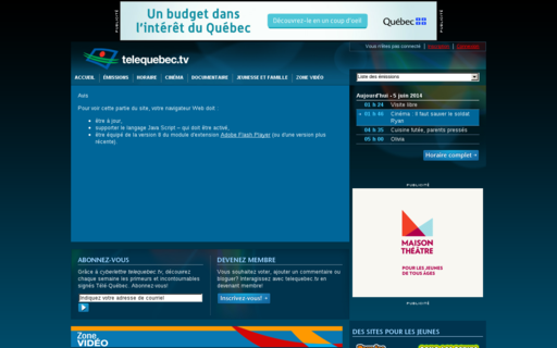 Access telequebec.tv using Hola Unblocker web proxy