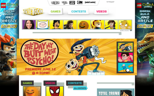 Access teletoon.com using Hola Unblocker web proxy