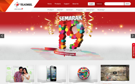 Access telkomsel.com using Hola Unblocker web proxy
