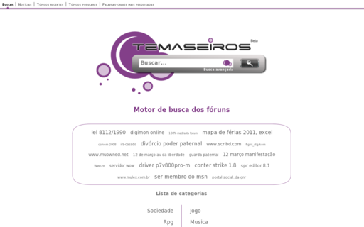 Access temaseiros.org using Hola Unblocker web proxy