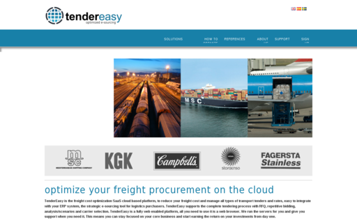 Access tendereasy.com using Hola Unblocker web proxy