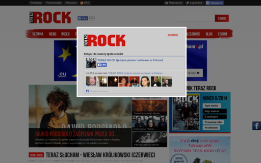 Access terazrock.pl using Hola Unblocker web proxy