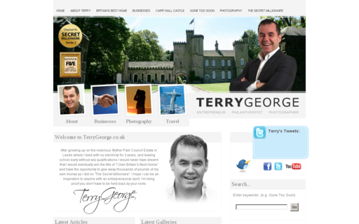 Access terrygeorge.co.uk using Hola Unblocker web proxy