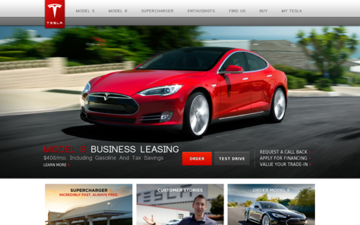 Access teslamotors.com using Hola Unblocker web proxy