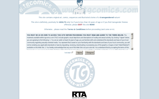 Access tgcomics.com using Hola Unblocker web proxy