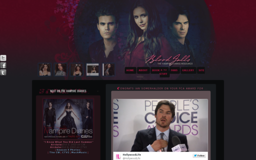 Access the-vampirediaries.com using Hola Unblocker web proxy