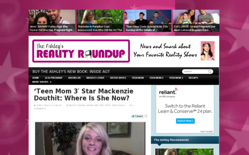 Access theashleysrealityroundup.com using Hola Unblocker web proxy