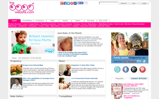 Access thebabywebsite.com using Hola Unblocker web proxy