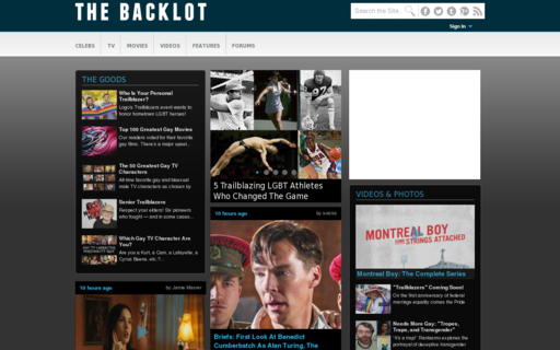 Access thebacklot.com using Hola Unblocker web proxy