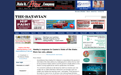 Access thebatavian.com using Hola Unblocker web proxy