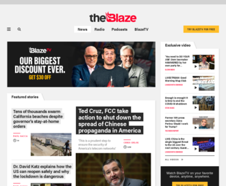 Access theblaze.com using Hola Unblocker web proxy