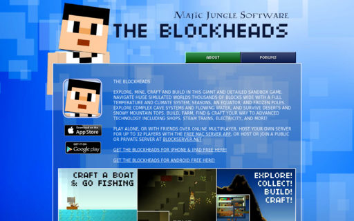 Access theblockheads.net using Hola Unblocker web proxy
